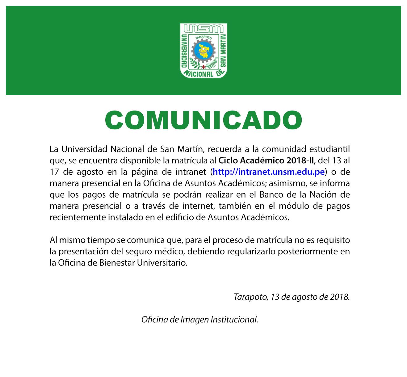 11 - COMUNICADO 130818