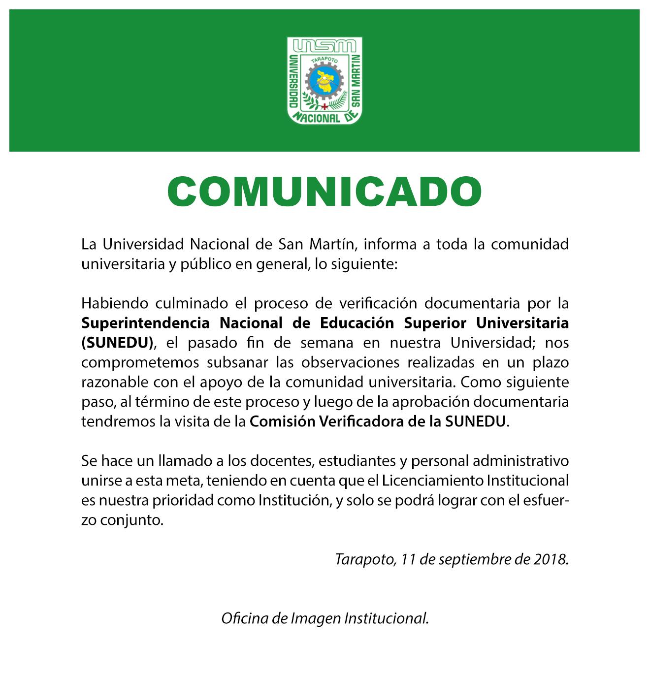 15 - COMUNICADO 110918